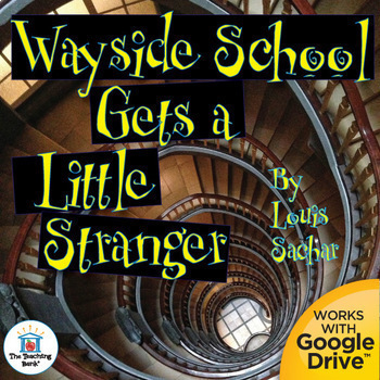 Wayside School Gets a Little Stranger Unit Novel Study