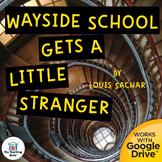 Wayside School Gets a Little Stranger Unit Novel Study