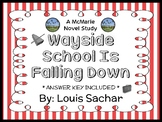 Wayside School Is Falling Down (Louis Sachar) Novel Study (35 pages)