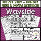 Wayside School Is Falling Down Novel Unit  | Distance Learning