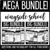Wayside School Questions and Vocabulary BIG BUNDLE