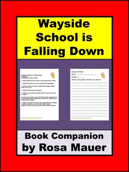 Wayside School is Falling Down Book Companion with STEM Activities