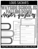 Wayside School is Falling Down Chapter Questions