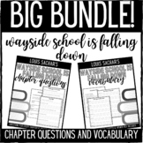 Wayside School is Falling Down Chapter Questions and Vocab