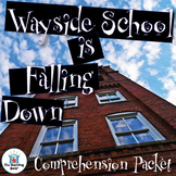 Wayside School is Falling Down Comprehension Packet