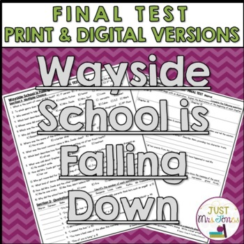 Wayside School is Falling Down Final Test