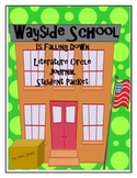 Wayside School is Falling Down Literature Circle Journal Student Packet