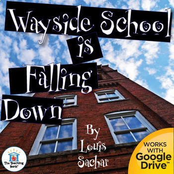 Wayside School is Falling Down Novel Study Book Unit