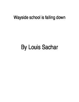 Wayside school is falling down book study