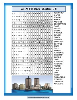 We All Fall Down Word Searches Plus