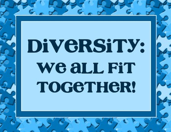 We All Fit Together: Diversity Sign for Display