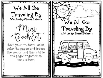 We All Go Traveling By [Literature Unit]