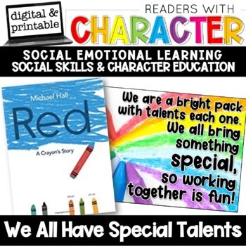 Why We Cant Have Social And Emotional >> We Have Special Talents Character Education Social Emotional
