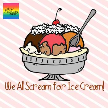 We All Scream for Ice Cream {Clip Art}