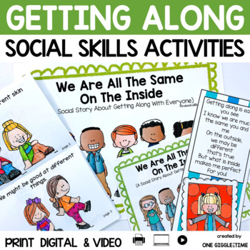 We Are All The Same On The Inside (A Social Story) #kindnessnation by One Giggle At A Time