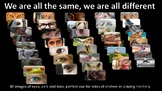We Are All the Same picture cards