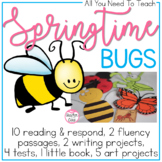 We Are Bugging Out {Reading Comprehension, Art, Writing, and Fluency}