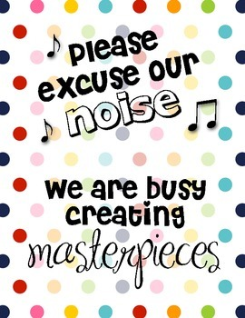 We Are Creating Masterpieces Poster
