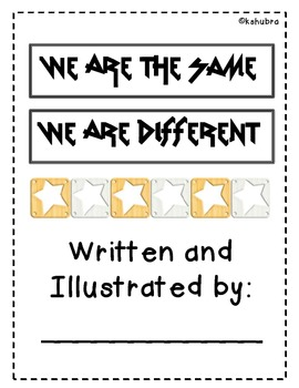 We Are Different, We Are the Same - Creative Writing