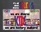We Are Diverse Kids Introduction Powerpoint