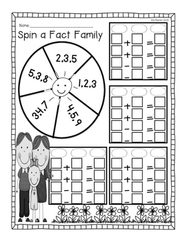We Are Family: An Introduction to Fact Families