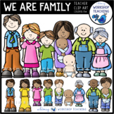We Are Family Clip Art