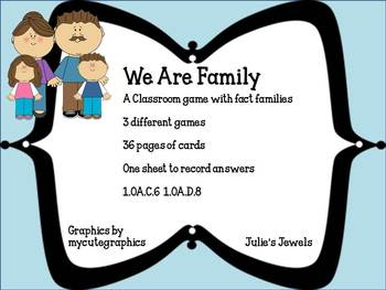 We Are Family Fact Games