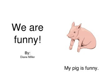 We Are Funny Mini Book - Sight Words / Phonics