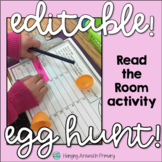 EDITABLE Easter Read and Write the Room