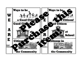 We Are Good Citizens :Pearson My World Texas Social Studies Gr. 2 Ch 1:L.1