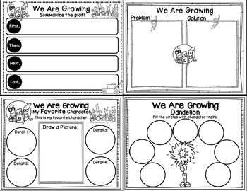 We Are Growing! Elephant and Piggie (Book Companion)