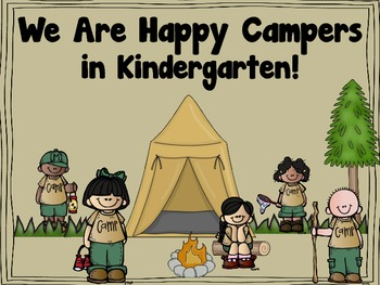 We Are Happy Campers Classroom Decor Pack
