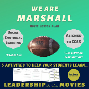 We Are Marshall: Companion Activites
