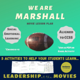 We Are Marshall Lesson Plan
