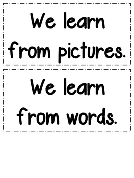 We Are Readers! Anchor Charts and Posters