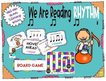 We Are Reading Rhythm Board Game