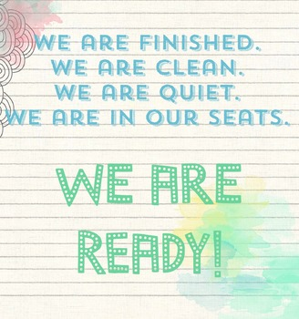 We Are Ready : Dismissal Poster