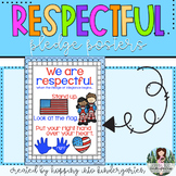 We Are Respectful --- Code of Conduct for Pledge of Allegiance