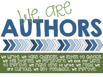 We Are...Scientists/Authors/Historians - Printable Posters