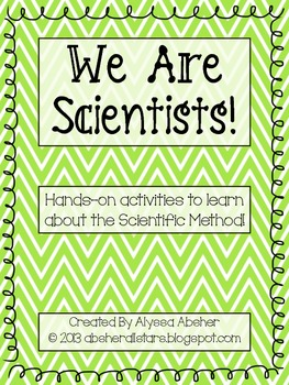 We Are Scientists! Hands-on Experiments Using The Scientific Method
