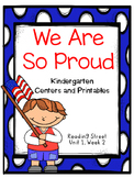 We Are So Proud, Kindergarten, Centers and Printables, Reading Street
