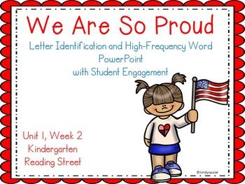 We Are So Proud, Kindergarten, PowerPoint, Reading Street