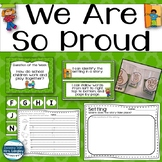 We Are So Proud Kindergarten Unit 1 Week 2