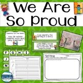 We Are So Proud Kindergarten Reading Street Unit 1 Week 2