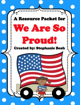 We Are So Proud - Reading Street Resource Packet - Supplement