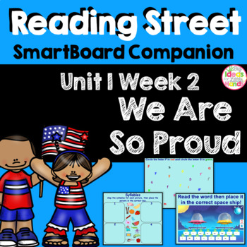 We Are So Proud SmartBoard Companion Kindergarten