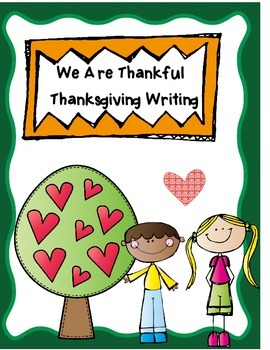 Thanksgiving  -  Writing Process Unit