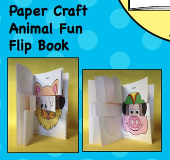 We Are in a Book! Comprehension Question & Answers Sticks & Flip Book