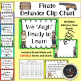 """We """"Argh"""" Ready to Learn-Pirate Behavior Clip Chart"""