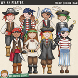 "Pirates Clip Art: ""We Be Pirates"""